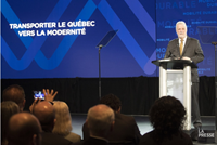 Less gas, fewer cars: Quebec announces $3B for sustainable transport
